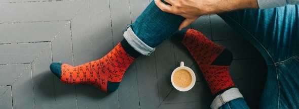 Organic cotton socks Melvin & Hamilton
