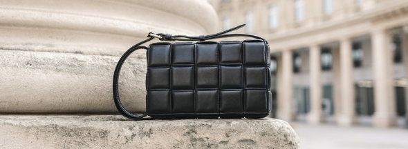 The quilted bag Pippa by Melvin & Hamilton