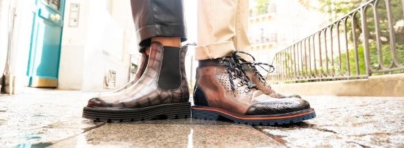 Autumn Winter Melvin & Hamilton shoes