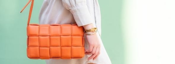 Leather quilted bag Pippa by Melvin & Hamilton