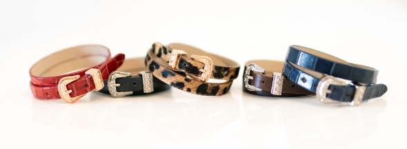 Leather bracelets Melvin & Hamilton