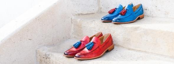 Kolorowe buty męskie Melvin & Hamilton