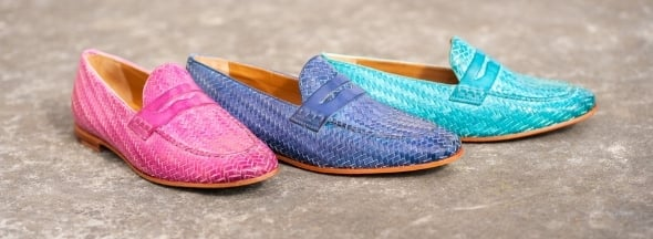 Coloured shoes pastel flashy Melvin & Hamilton