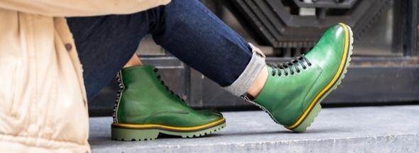 Men ankle boots Melvin & Hamilton