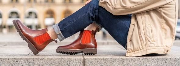 Men platform shoes Melvin & Hamilton