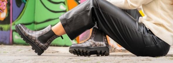 Chaussures à plateforme Melvin & Hamilton