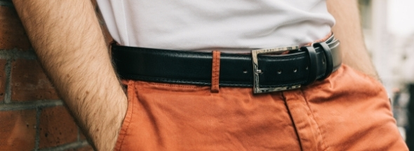 Leather belts Melvin & Hamilton
