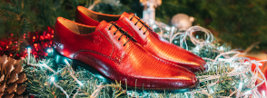 Festive shoes Melvin & Hamilton