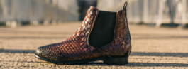 Woven leather shoes women Melvin & Hamilton