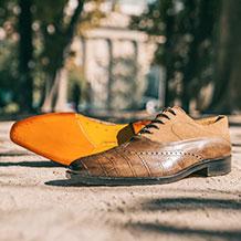 Sole types Melvin & Hamilton shoes
