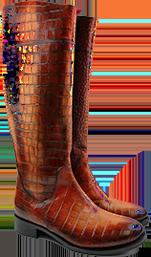 Les bottes hautes pour elle