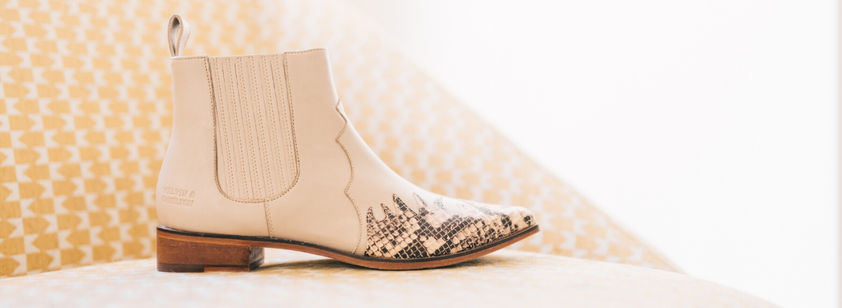 Trend cowboy boots Melvin & Hamilton