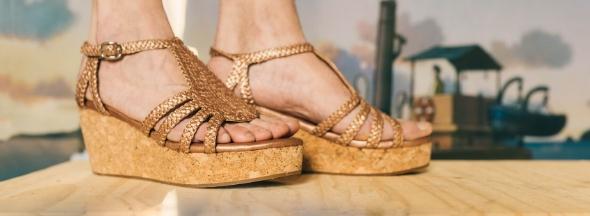 Sleehak sandalen & muiltjes Melvin & Hamilton